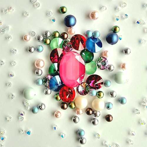 Kryształy iperły Swarovski