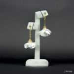 Kolczyki Złota Panienka z Kolekcji Golden Lady - biały