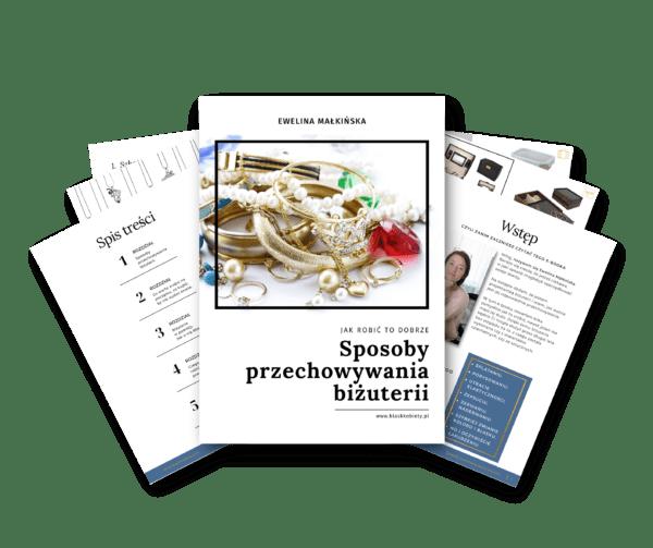 Ebook Sposoby przechowywania biżuterii
